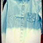 Ombre chambray.  Ole!