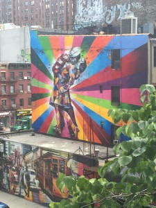 Graffiti on the Highline