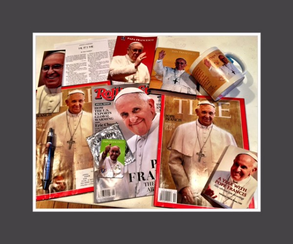 Friends who know my love of Pope Fran.
