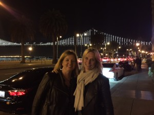 Our first night in SF
