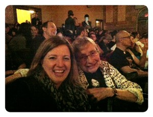 At The Moth with Jean.